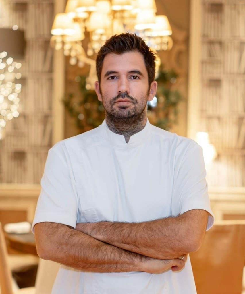 Barozzi Restaurant and its team Welcome the Consultant Chef Gikas Xenakis
